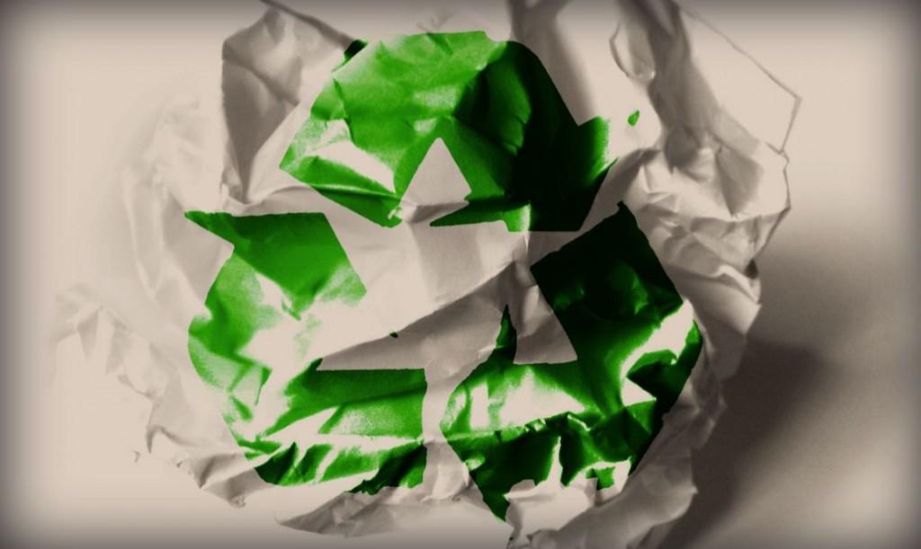 Papel reciclado para impressão