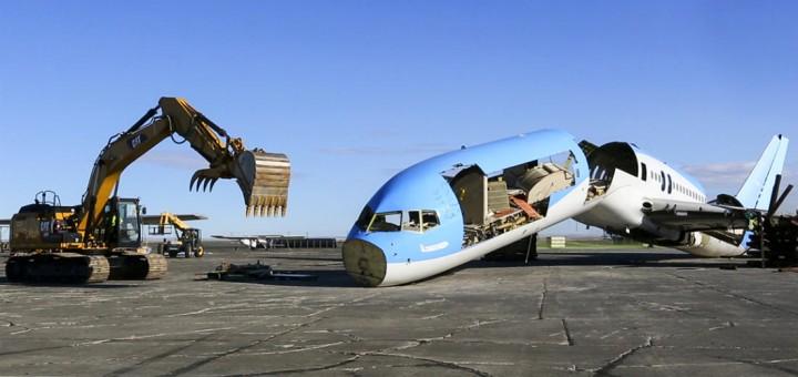 Reciclagem de aviões