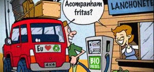reciclagem para fazer biodiesel