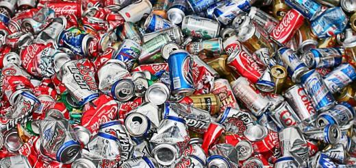 cadeia da reciclagem das latas de alumínio