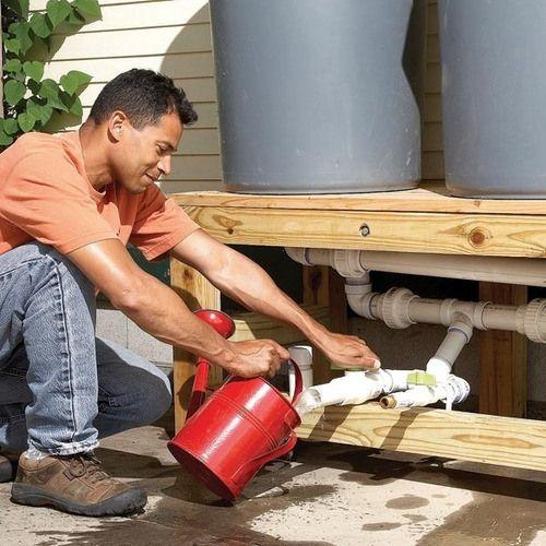 Como captar gua da chuva for Tambores para agua