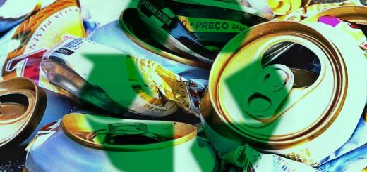 Reciclagem das latas de alumínio