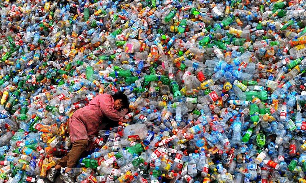 O complexo plástico reciclável