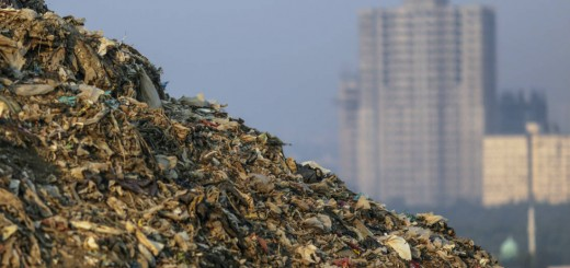 Montanha de lixo