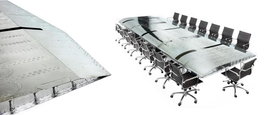 reciclagem-de-aviao-mesa-escritorio