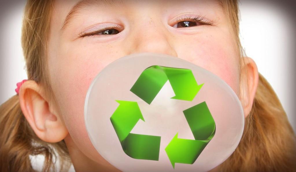Reciclagem de chiclete