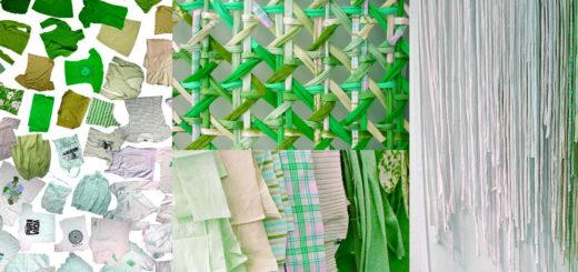 Tecido sustentável e reciclado