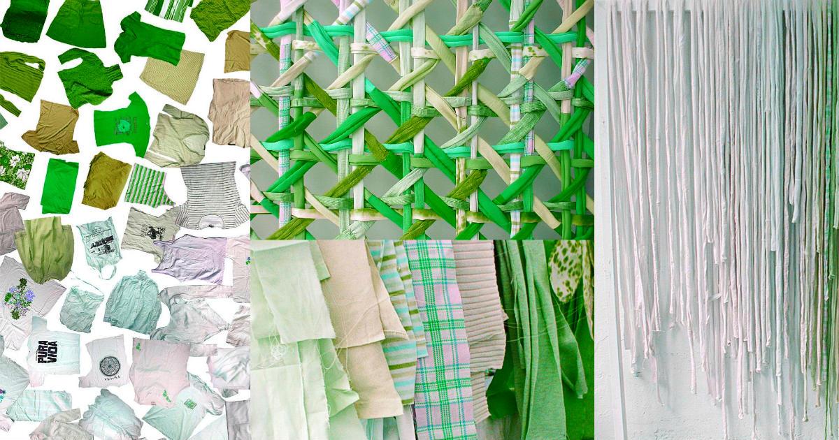 Tecidos sustentável e reciclado